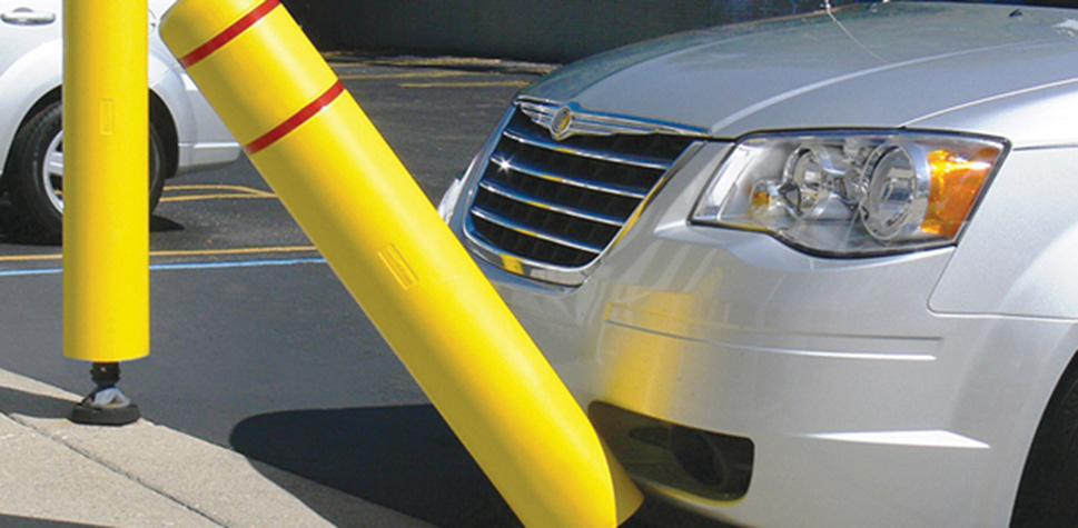 Collapsible Bollards in Central PA & Surrounding Areas