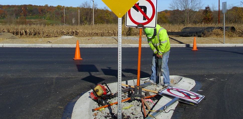 traffic sign Testing & Implementation in central pa & beyond