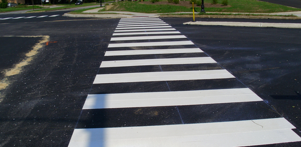Thermoplastic Pavement Markings in the Mid-Atlantic