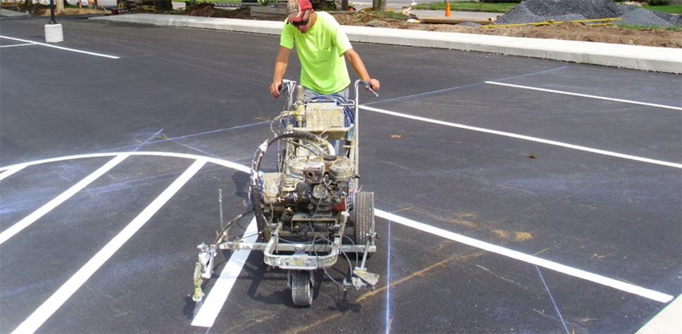 local road marking contractor and Road and Traffic Contracting Services in the mid-atlantic