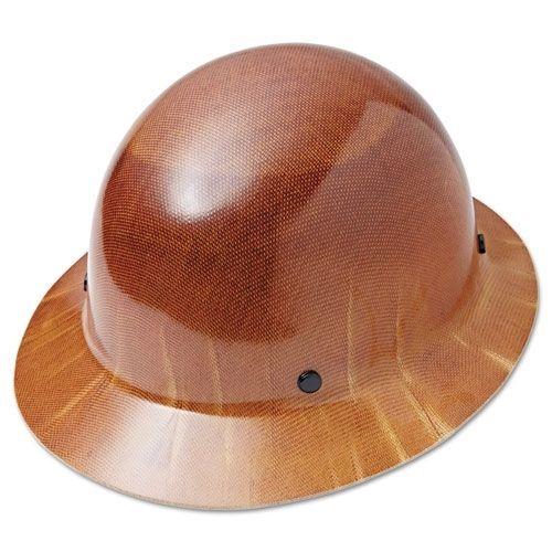 MSA Skullgard 4-Point Ratchet Suspension Cap Full Brim Hard Hat