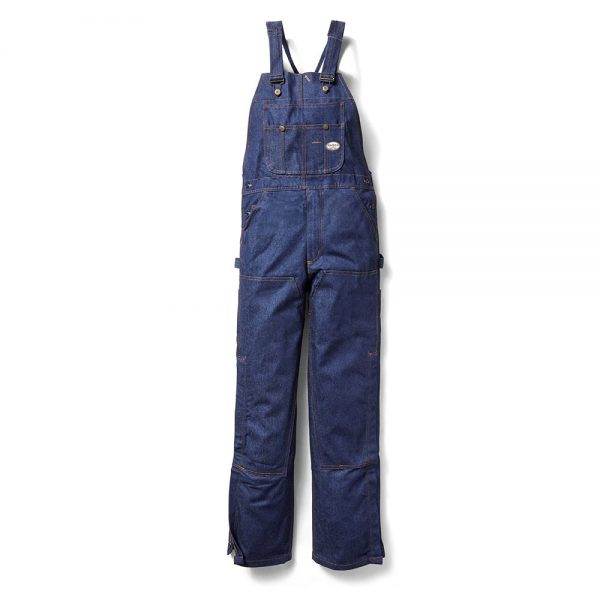 Rasco FR Blue Denim Bib Overalls