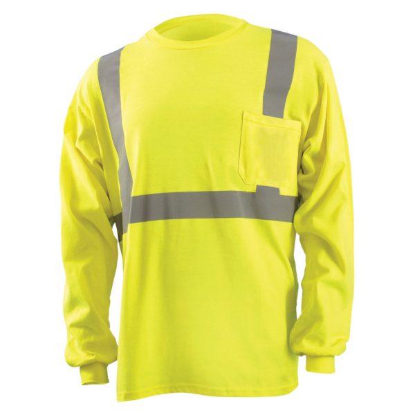 Class 2 Classic Flame Resistant Long Sleeve T-Shirt - FR Long Sleeve Shirt