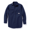 Rasco FR Navy Long Sleeve Dress Shirt