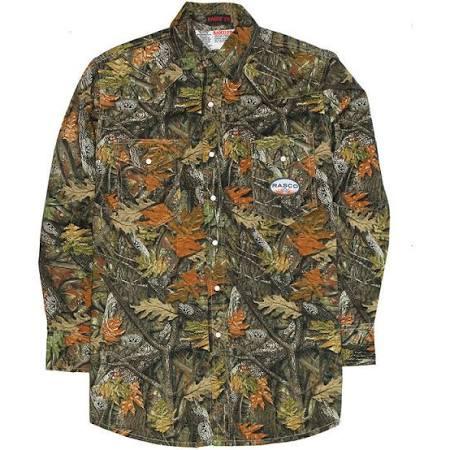 be6fed9b0fd6 Rasco FR Woodland Camo Lightweight Work Shirt For Sale