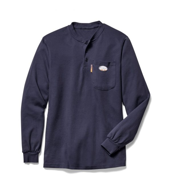Rasco FR Henley Long Sleeve Shirt - 7 Colors