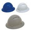 Americana Vented Full Brim Hard Hat with 4-Point Ratchet Suspension