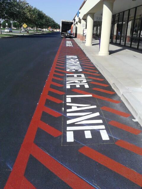 No Parking Fire Lane | D.E. Gemmill