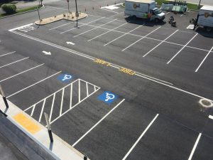 Parking Lot Painting Company in Pennsylvania & Maryland