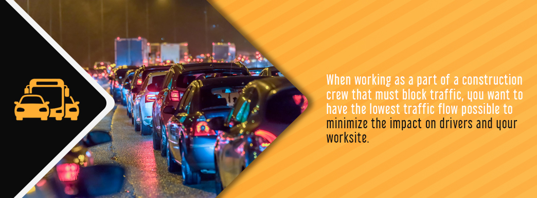 benefit of nighttime construction is reduced traffic flow which minimizes impact on drivers and worksite