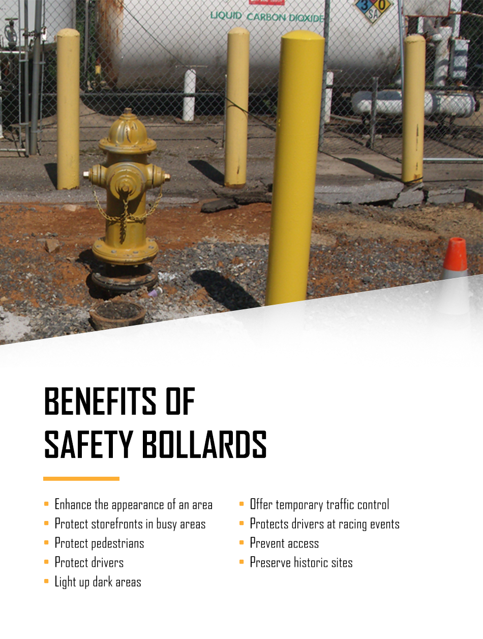 Benefits of Safety Bollards